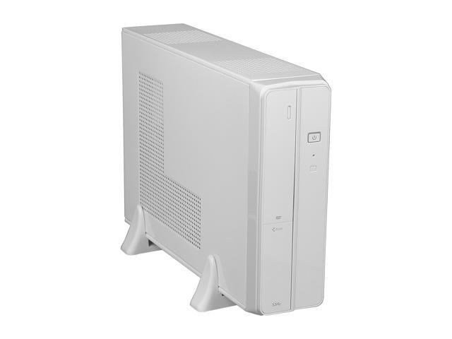 XION XON-720P mATX/ ITX Slim Desktop Case, USB 3.0, 5 in 1 Card-reader, 300W PSU, White_Retail