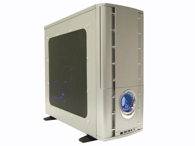 ATRIX CSCI-A9003-B3 Silver SECC steel ATX Mid Tower Computer Case
