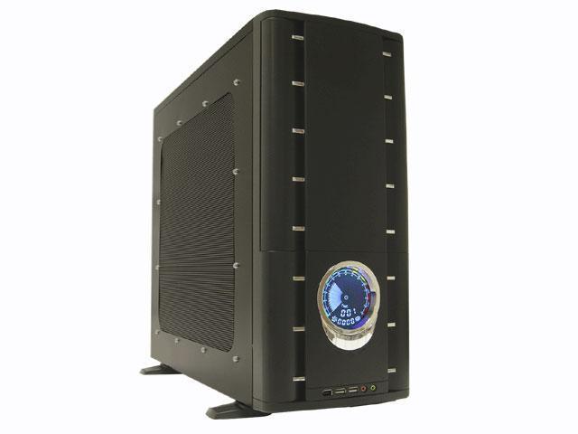 ATRIX CSCI-A9003-C4 Black SECC steel ATX Mid Tower Computer Case