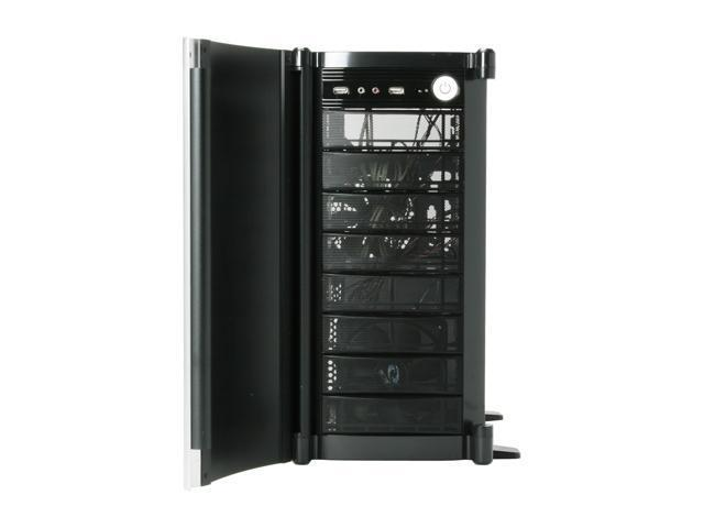 SIGMA SHARK-BSWP Black SECC Steel ATX Mid Tower Computer Case 400W Power Supply