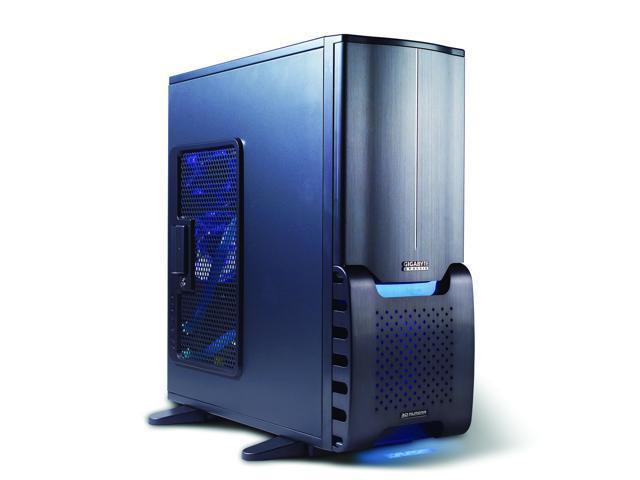 GIGABYTE 3D AURORA GZ-FSCA1-ANB Black Aluminum ATX Full Tower Computer Case