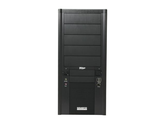 GIGABYTE Triton 180 Black 0.7mm SECC Steel ATX Mid Tower Computer Case
