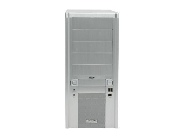 GIGABYTE Triton 180 Silver 0.7 mm SECC ATX Mid Tower Computer Case