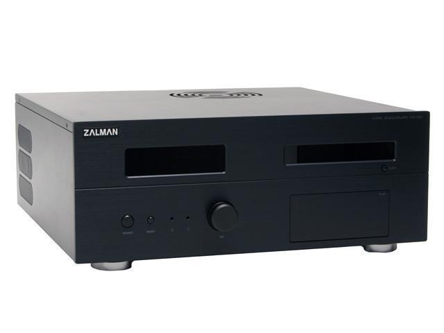 ZALMAN Black Aluminum HD160B ATX Media Center / HTPC Case