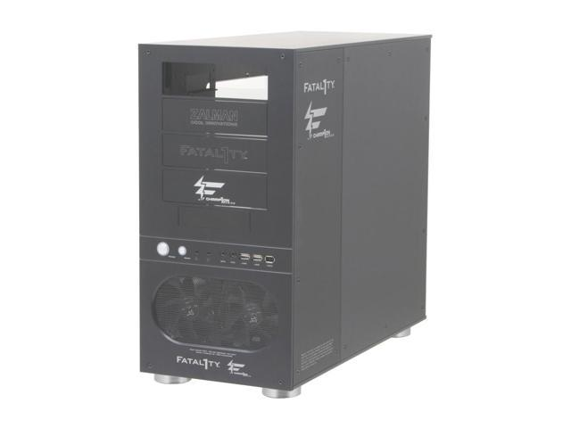 ZALMAN FC - ZE1 Black Pure aluminum ATX Mid Tower Computer Case