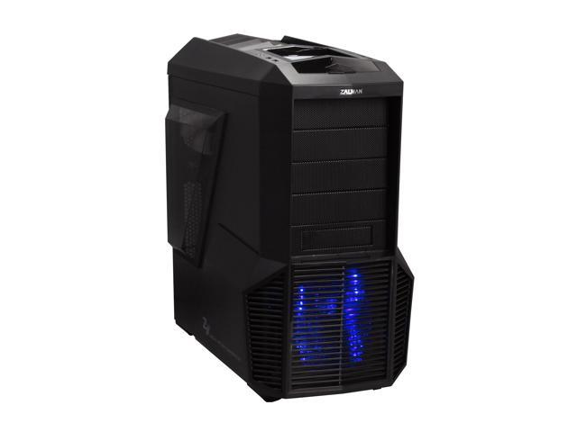 ZALMAN Z11 Plus Black Steel / Plastic ATX Mid Tower Computer Case