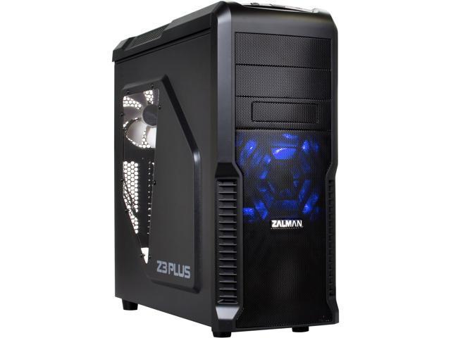 Zalman Z3 Plus Atx Mid Tower Pc Case Optimum Multi Fan