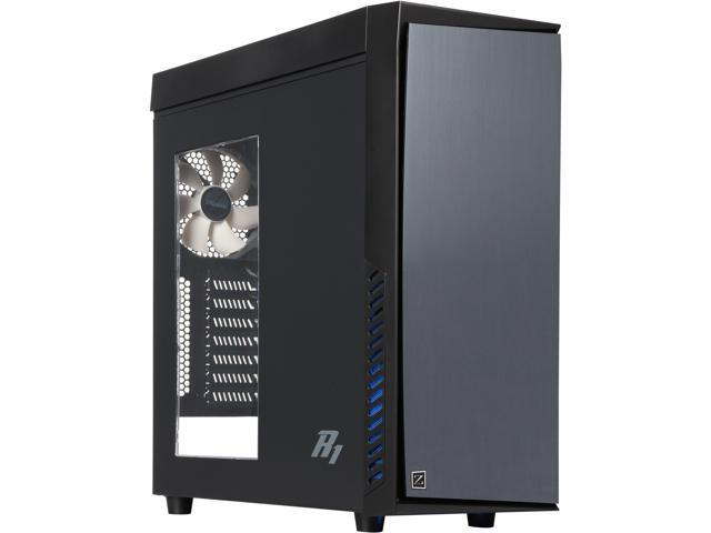 ZALMAN R1 Black ATX Mid Tower Computer Case Standard ATX / ATX 12V Power Supply