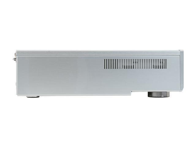 Moneual Silver Aluminum MonCaso 312S Micro ATX Media Center / HTPC Case
