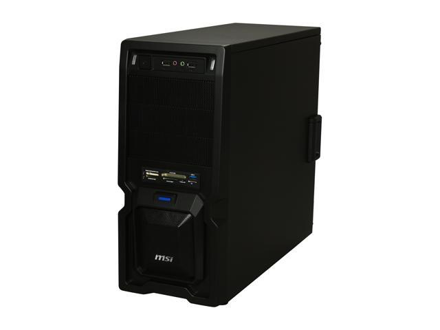MSI Raptor IN-9410 Black Steel ATX Mid Tower Computer Case