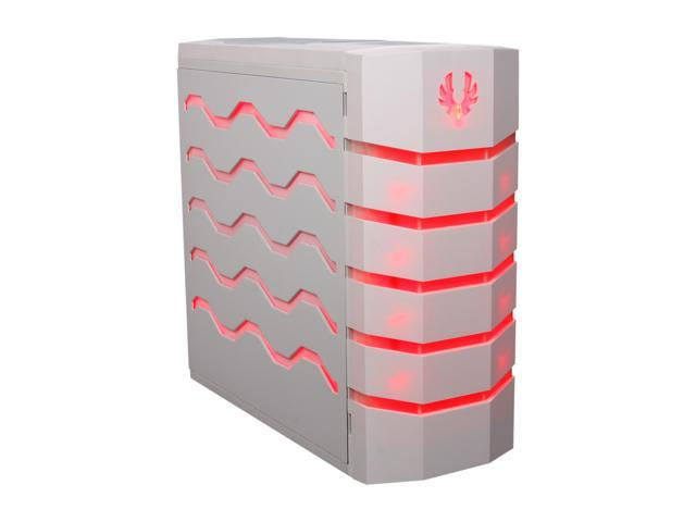 BitFenix Colossus White / Red/Blue LED / White Steel / Plastic ATX Full Tower Computer Case