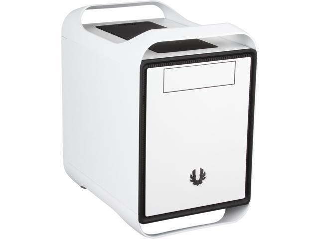 BitFenix Prodigy M Arctic White Steel/ Plastic Micro ATX Mini Tower Computer Case