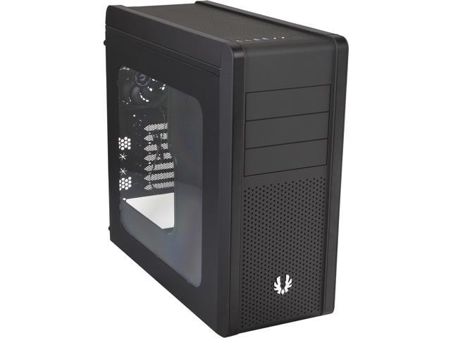 BitFenix Ronin Series BFC-RON-300-KKWSK-RP Black Steel / Plastic ATX Mid Tower Computer Case