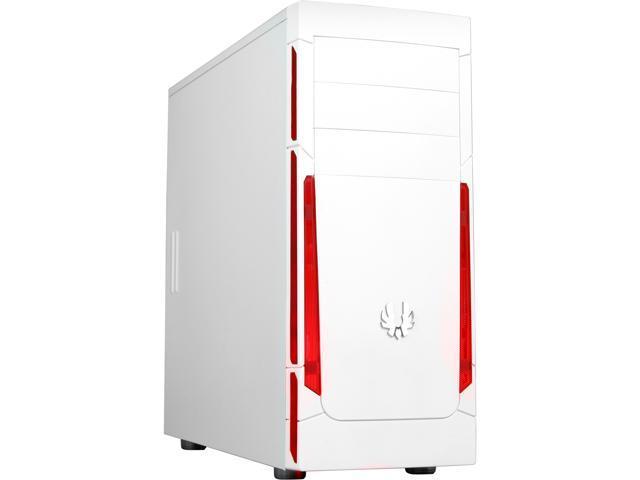 BitFenix BFC-OLW-100-WWNR-U3 White Steel / Plastic ATX Mid Tower Computer Case