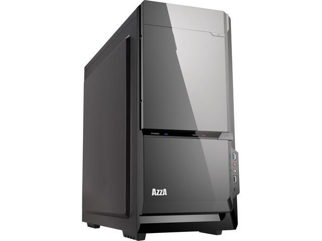 AZZA Silentium 920B CSAZ-920B Black SECC ATX Mid Tower Computer Case