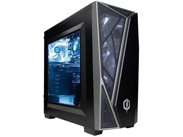 CyberPowerPC CS-429-105 Black ATX Mid Tower Corsair Carbide 300R Mid-Tower Gaming Case
