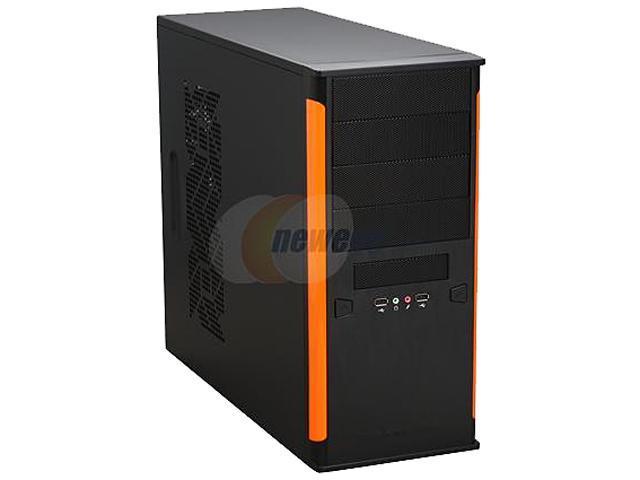 Xigmatek ASGARD II B/O CPC-T45UE-U01 Black / Orange Computer Case