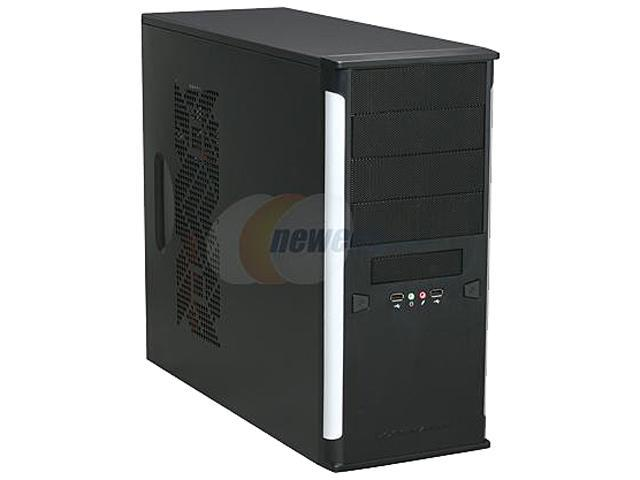 Xigmatek ASGARD II B/S CPC-T45UD-U01 Black / Silver 0.8 mm SECC / Aluminum and Aluminum Mesh Bezel ATX Mid Tower Computer Case