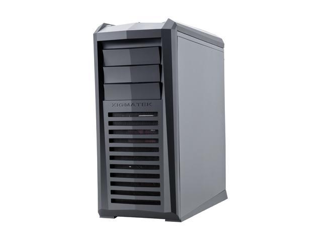 Xigmatek Talon CCM-38BBW-U01 Black SECC w/ black coating (Chassis) ABS, Acrylic (Panel) ATX Mid Tower Gaming Computer Case