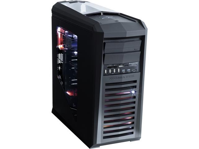 Xigmatek Talon CCM-38BBW-U01 Black SECC w/ black coating (Chassis) ABS, Acrylic (Panel) ATX Full Tower Gaming Computer Case