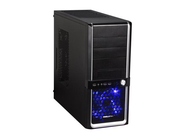 Diablotek EVO RPA-6170 Black 0.6mm SECC ATX Mid Tower Computer Case