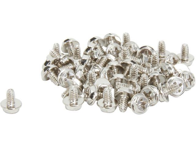 StarTech.com Replacement PC Mounting Screws Long Standoff - 50 Pack SCREW6_32