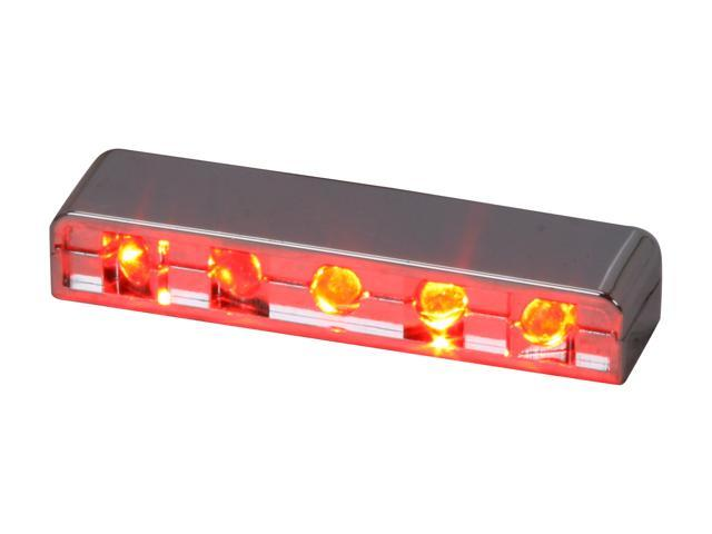 LOGISYS Computer MDLED5RD Red 5LED Lazer Light