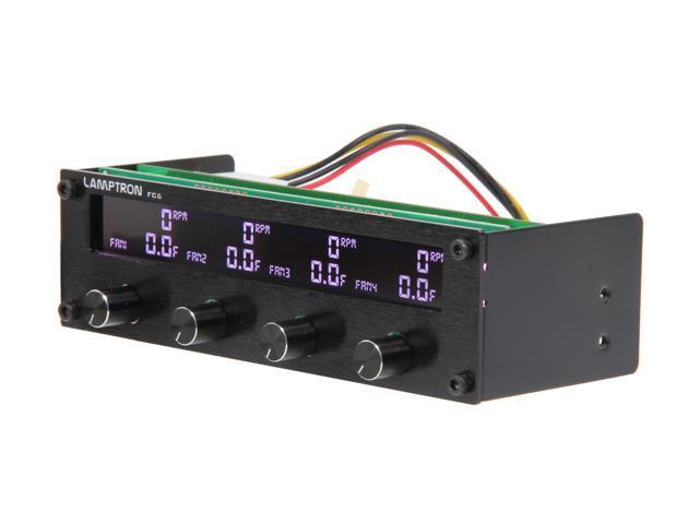 1ST PC CORP. FC-FC6-B Lamptron Fan Controller, Black Color