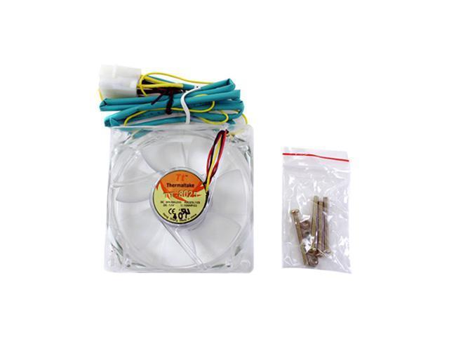 Thermaltake A1909 80mm Green LED Case Fan