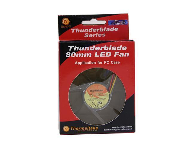 Thermaltake A1910 80mm Blue LED Case Fan