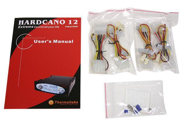 Thermaltake HardCano 12 HDD Cooler and LCD Heat Monitor