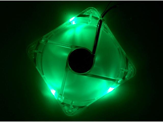 Thermaltake Thunderblade A1928 120mm Green LED Case Fan