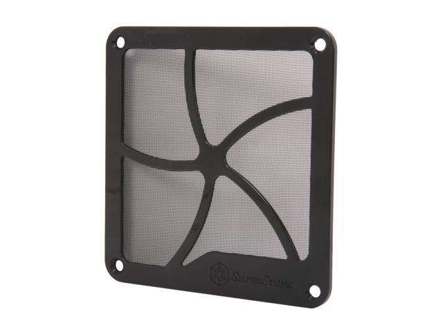Silverstone SST-FF122 120mm Fan Filter with Magnet (Black)