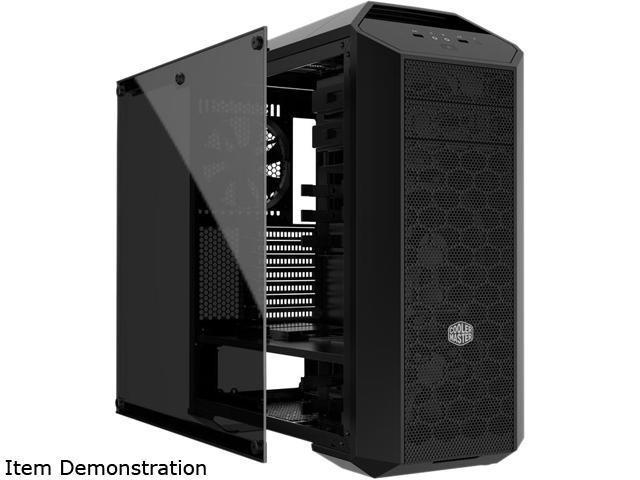 COOLER MASTER MCA-0005-KGW00 MasterAccessory Tempered Glass Side Panel With Lock Mechanism