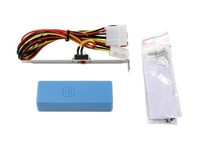 LOGISYS Computer CCF80UVBL 80mm Blue LED Case Cooling Fan
