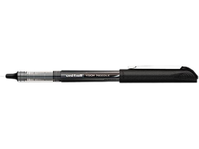 Uni-Ball Vision Soft Grip Pen 0.5 mm Pen Point Size - Black Ink - 12 / Dozen