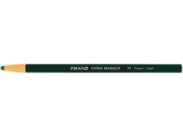 Dixon China Marker, Green, Dozen, DZ - DIX00074