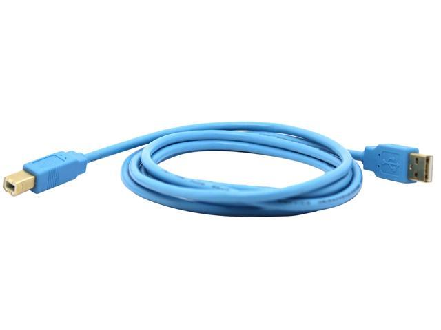 Filemate 6ft Printer USB A to B Cable - Blue, 3FMLDU2PT6-BL