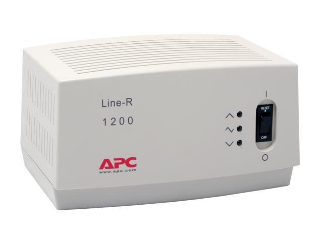 APC LE1200 6.5' 680 joule 1200VA Automatic Voltage Regulator