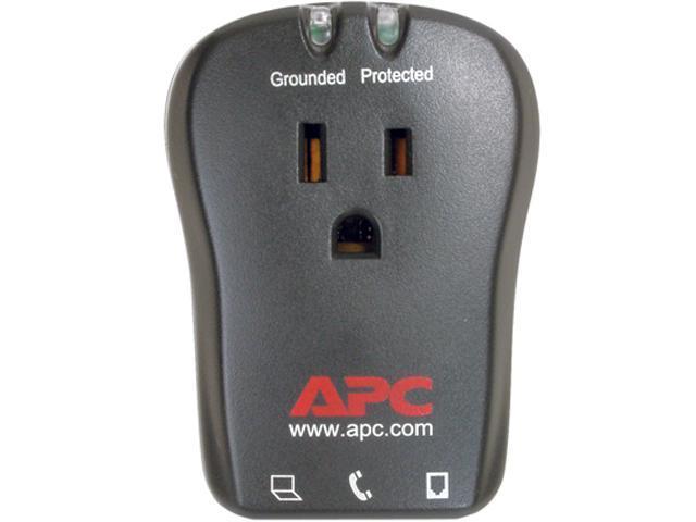 APC P1T 1 Outlets 540 joule Travel Surge Protector