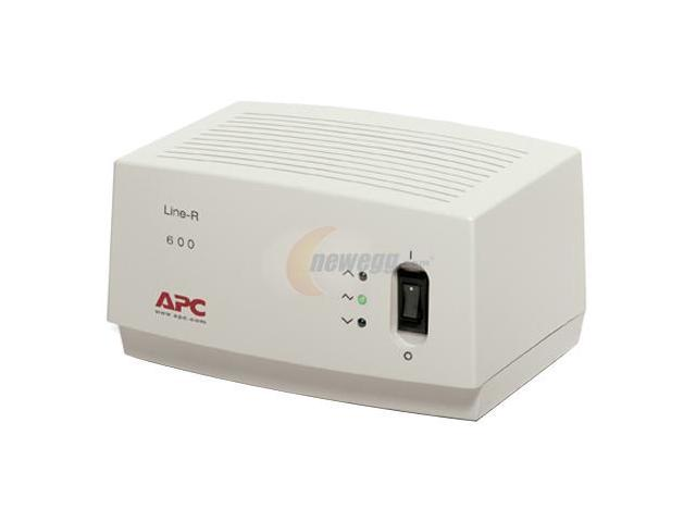 APC LE600 6.5 feet 4 Outlets 680 Joules Line-R 600VA Automatic Voltage Regulator