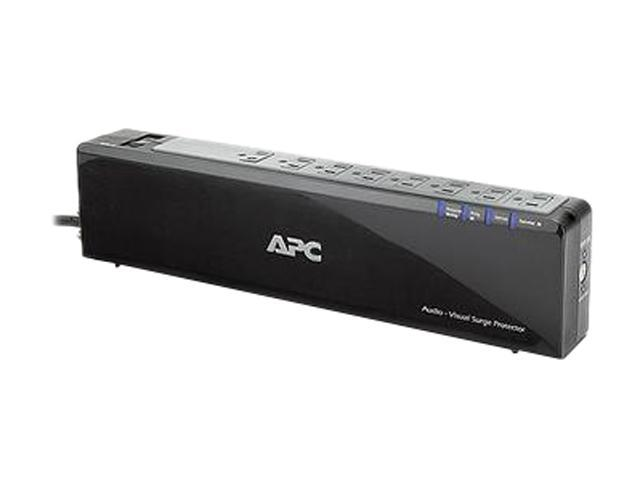 APC P8VNTG 6 ft. 8 Outlets 2690 Joules Power-Saving Surge Protector with Phone/Network/Coax Protection