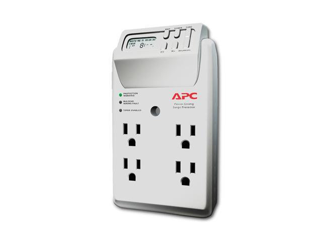 APC P4GC 4 Outlets Surge Suppressor