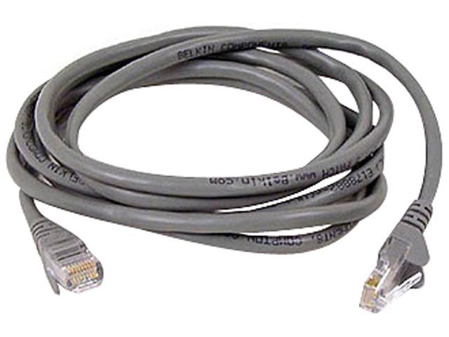 BELKIN A3L791-07-S-SN 7 ft. Cat 5E Gray Network Cable