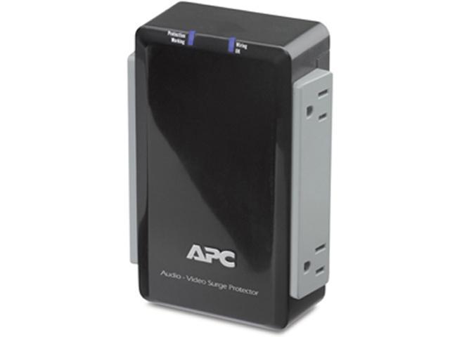 APC P4V 4 Outlets 1700 Joules 4-Outlets Surge Suppressor