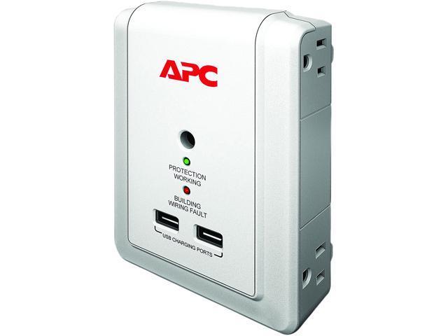 APC P4WUSB 4 Outlets 1000 J Essential Surge Suppressor