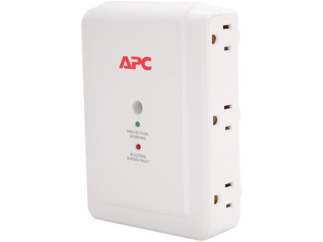 APC P6W 6 Outlets 1080 joule Surge Suppressor