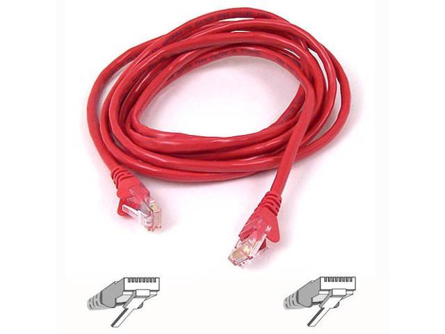 Belkin A3L980-10-RED-S 10 ft. Cat 6 Red Network Cable