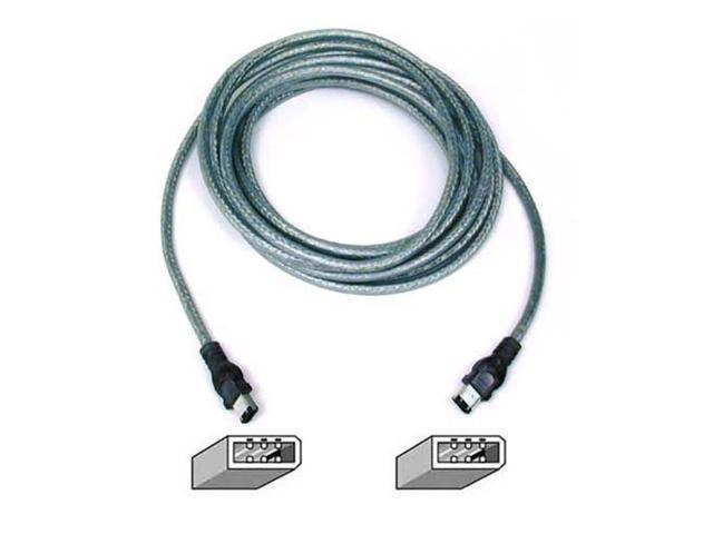 Belkin F3N400-14-ICE 14 ft. IEEE 1394 FireWire Compatible Cable (6-pin/6-pin)