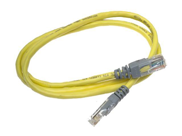 Belkin A3X126-03-YLW-M 3 ft. Cat 5E (Crossover) Yellow Network Cable